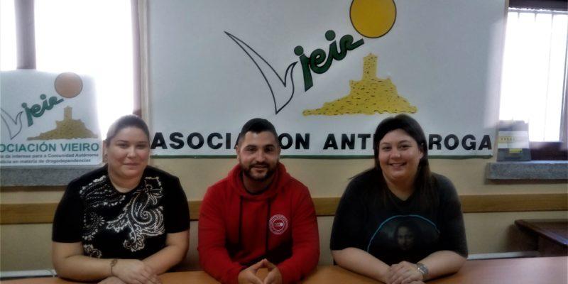 ADRIÁN LÓPEZ AGRA, PATRICIA RODRIGUEZ VILLAR Y DALILA VIZCAÍNO REGUEIRA.